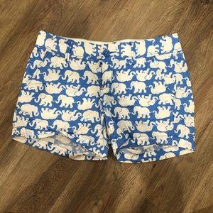 Lilly Pulitzer Shorts- elephant pattern